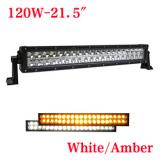 21.5 inch 120W Bicolor LED light bar for truck,White or Amber