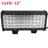 12 inch 144W Cree Four Row LED light bar for Jeep Off Road