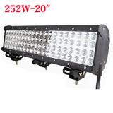 20 inch 252W Cree Four Row LED light bar for Jeep Off Road
