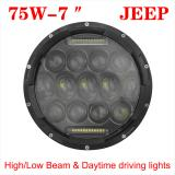 75W JEEP Wrangler Headlight,7inch 75W  Philips LED Headlight