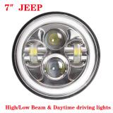 30W JEEP Wrangler Headlight,7inch 4000LM CREE LED Headlight