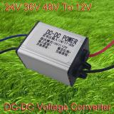 Electric power converter motorcycle 24 v voltage converter 24V 36V 48V TO 12V transformer